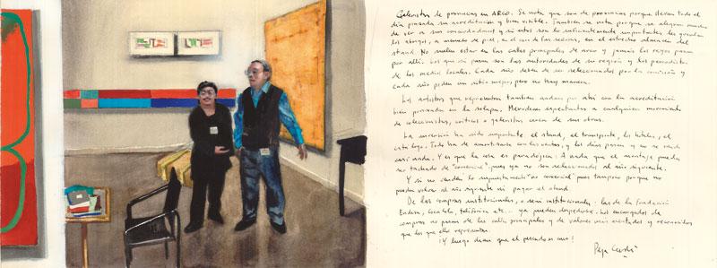 ARCO-2-galeristas-Acuarela-y-tinta-sobre-papel-29x76cm