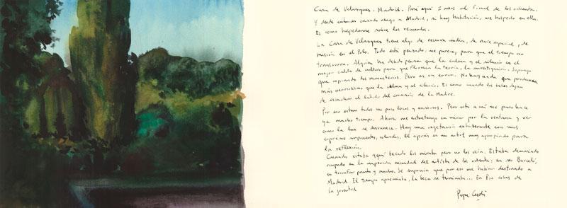 Casa-de-Velázquez-Acuarela-y-tinta-sobre-papel-28x76cm
