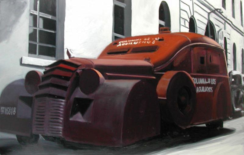 Coche-blindado-Columna-de-los-Aguiluchos-130x195cm