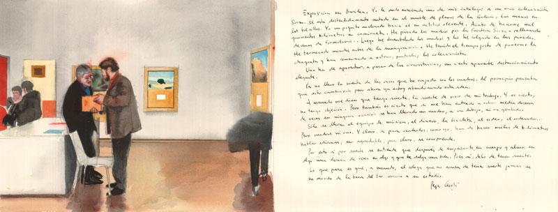 Exposición-en-Basilea-Acuarela-y-tinta-sobre-papel-29x76cm