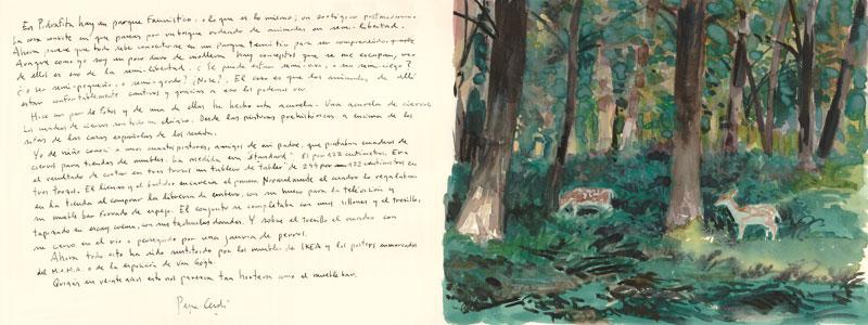 Piedrafita-La-Cuniacha-Acuarela-y-tinta-sobre-papel-29x76cm