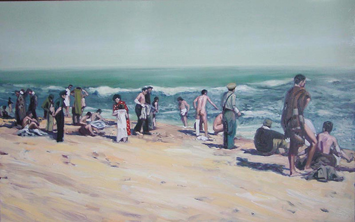 Argeles-sur-Mer-1939-Oleo-sobre-lienzo-81x130cm