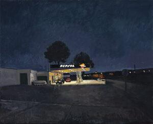 Gasolinera-2009-Oleo-y-acrilico-sobre-lienzo-73x92cm