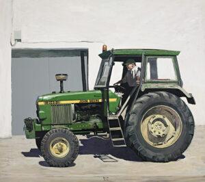 Layus-en-su-John-Deere-2009-Oleo-y-acrilico-sobre-lienzo-200x230cm